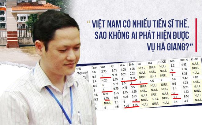 [PGS.Bùi 4.0] Vụ Hà Giang: Xin đừng làm hại quan chức và các GS, TS??.,