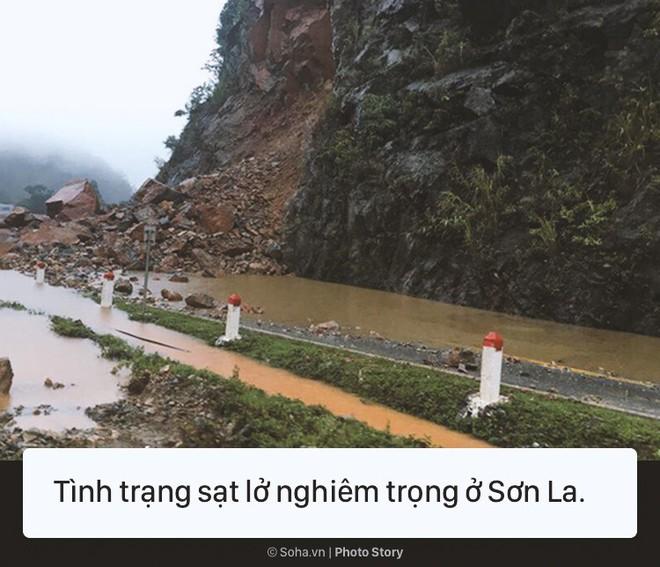 [Photo Story] Cảnh phố như sông ở nhiều tỉnh thành sau cơn bão số 3 - Ảnh 6.