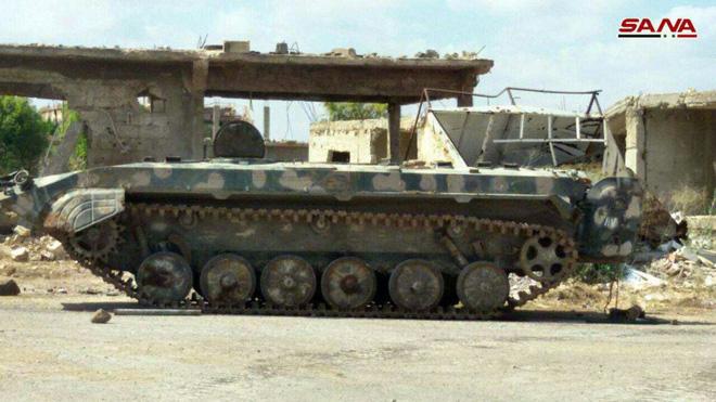 Quân đội Syria đã khiến phiến quân hứng chịu thất bại tồi tệ nhất trong 7 năm qua - Ảnh 4.