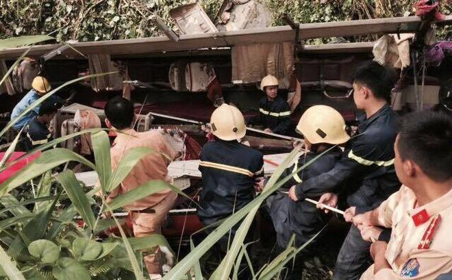 Xác định danh tính 20 người thương vong trong vụ xe khách lao xuống vực