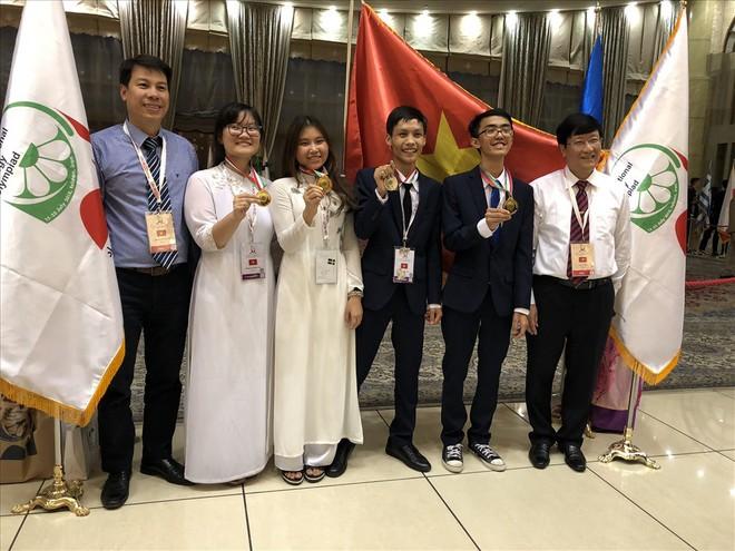 Bật mí về nữ sinh Việt Nam có điểm thi Olympic cao nhất thế giới - Ảnh 1.