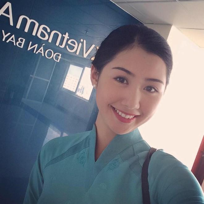 Cận cảnh nhan sắc nữ tiếp viên hàng không gây chú ý, lọt Chung kết Hoa hậu Việt Nam 2018 - Ảnh 3.