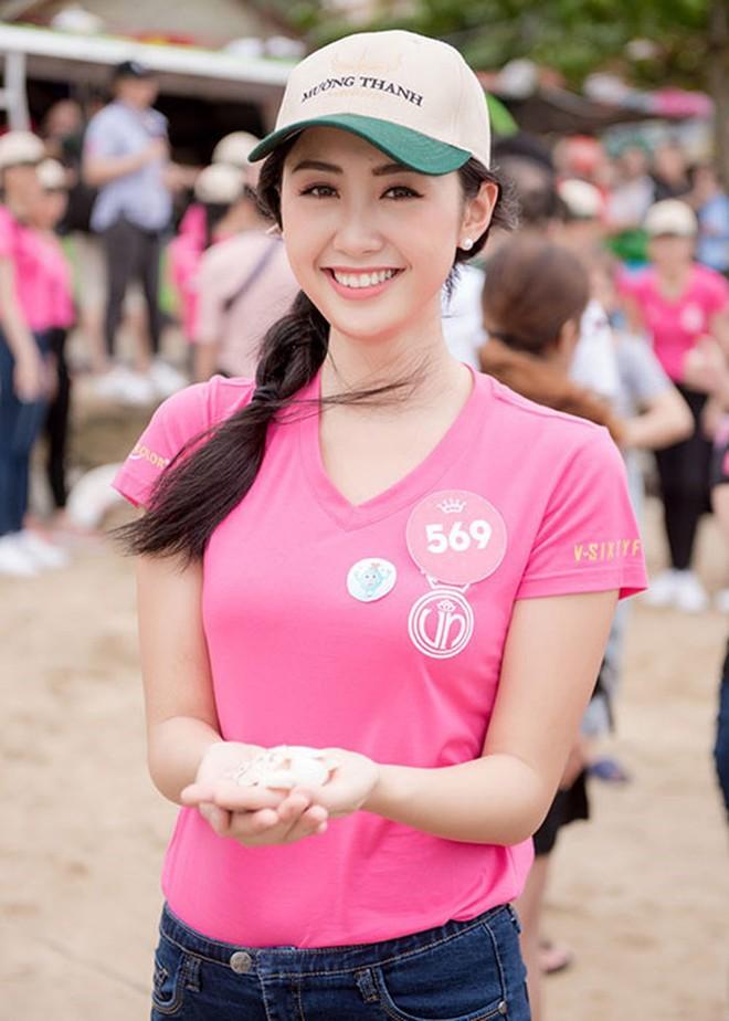 Cận cảnh nhan sắc nữ tiếp viên hàng không gây chú ý, lọt Chung kết Hoa hậu Việt Nam 2018 - Ảnh 5.