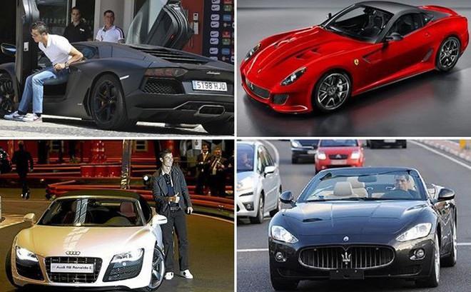 Dàn siêu xe của Ronaldo khiến sếp Juventus phiền lòng