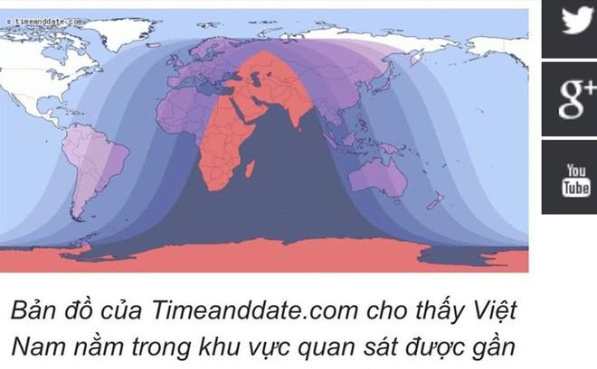 Người Việt khó chiêm ngưỡng nguyệt thực toàn phần dài nhất thế kỷ 21