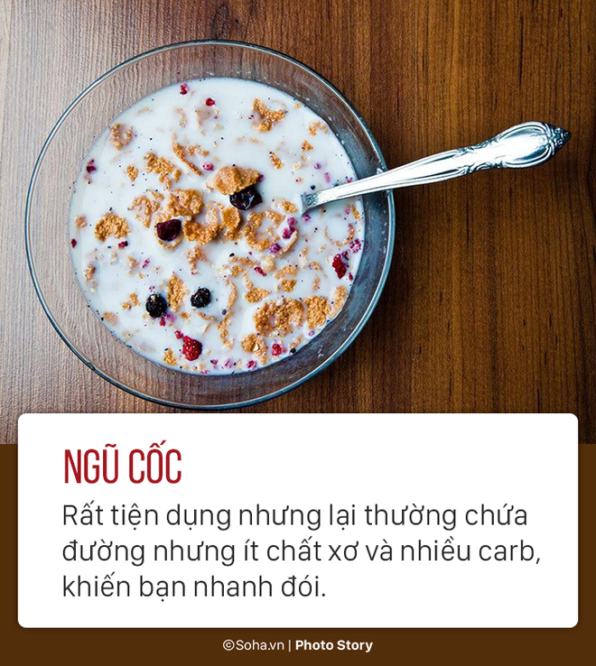 Ăn sáng rất quan trọng nhưng bạn nên tránh 6 món dưới đây - Ảnh 2.