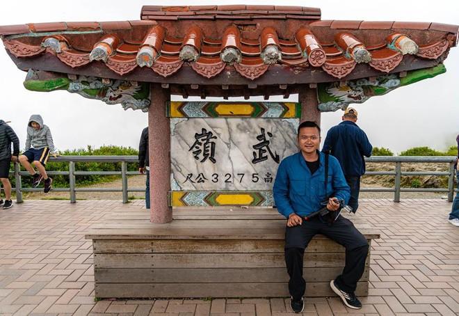 Chàng trai Việt một mình phượt từ Los Angeles đến Đài Loan bằng xe máy gần 40 ngày - Ảnh 1.