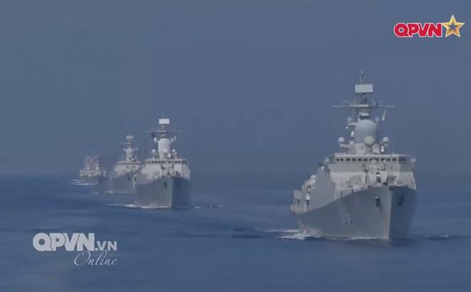 Kết quả hình ảnh cho Phát bắn diệt gọn mục tiêu của tàu Gepard Việt Nam