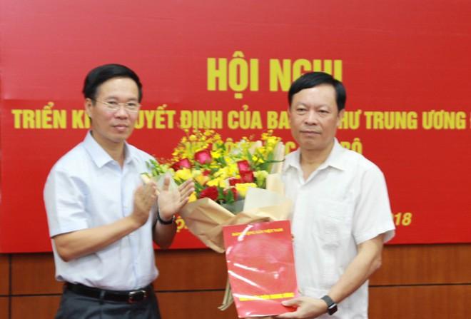 Triển khai quyết định của Ban Bí thư Trung ương Đảng về công tác cán bộ - Ảnh 1.