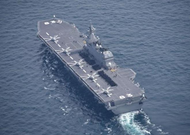 """Biển Đông: Tàu sân bay Nhật tiếp tục tuần tra, báo Trung Quốc đe dọa """"báo thù"""" - Ảnh 2."""