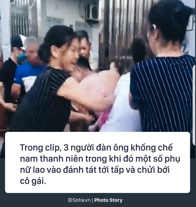 Mẹ chồng cùng con dâu đi đánh ghen, lột quần cô gái tại phòng trọ: Có dấu hiệu phạm 3 tội - Ảnh 2.
