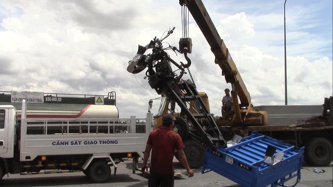 Làm rõ nguyên nhân vụ tai nạn giữa ô tô tải và xe ba gác khiến 3 người chết  - Ảnh 3.