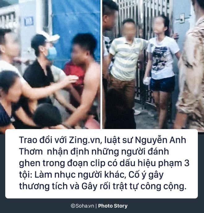 Mẹ chồng cùng con dâu đi đánh ghen, lột quần cô gái tại phòng trọ: Có dấu hiệu phạm 3 tội - Ảnh 9.