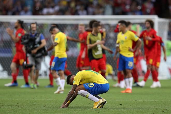 World Cup 2018: Brazil rớt đài, nhưng Neymar còn nhận điều tồi tệ gấp vạn lần thất bại 3