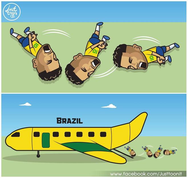 Neymar lại nhận đủ đàm tiếu vì quen thói ăn vạ 1