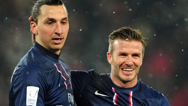 Ibrahimovic gạ cá cược trận Anh vs Thụy Điển, Beckham đáp trả hài hước - Ảnh 2.