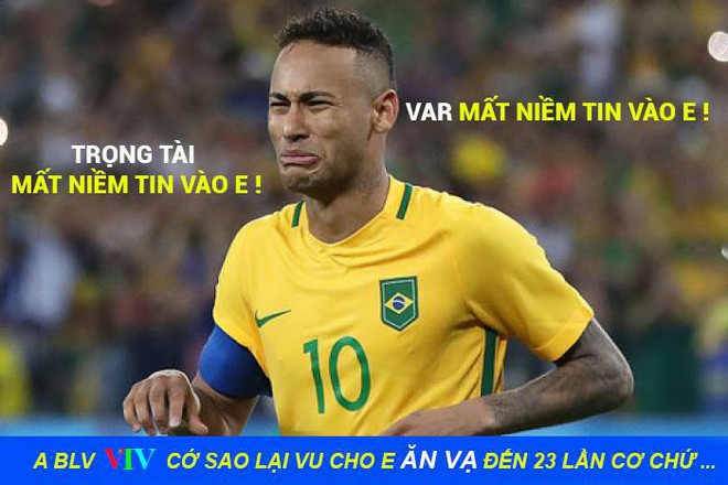 Neymar lại nhận đủ đàm tiếu vì quen thói ăn vạ 4