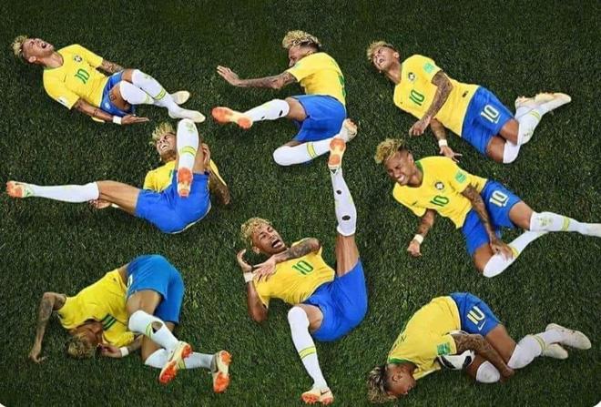 Neymar lại nhận đủ đàm tiếu vì quen thói ăn vạ 5