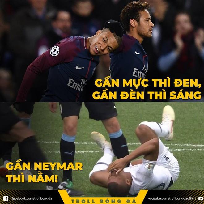 Neymar lại nhận đủ đàm tiếu vì quen thói ăn vạ 7