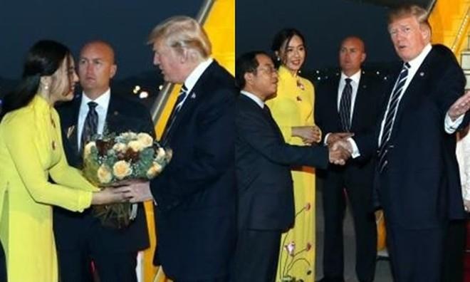 Cô gái tặng hoa Tổng thống Trump bất ngờ thi Hoa hậu Việt Nam, nổi bật nhất dàn thí sinh - Ảnh 8.