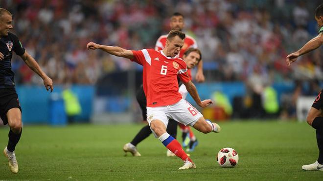 Ngẩng đầu rời World Cup trên chấm 11m, họ có thể dõng dạc 'Tôi, cầu thủ Nga' 3