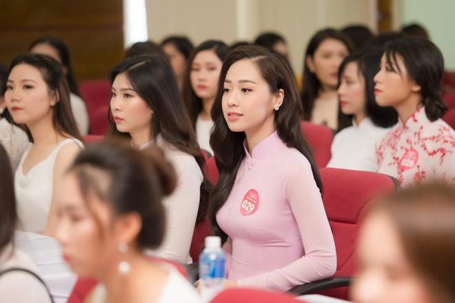 Cô gái tặng hoa Tổng thống Trump bất ngờ thi Hoa hậu Việt Nam, nổi bật nhất dàn thí sinh - Ảnh 3.