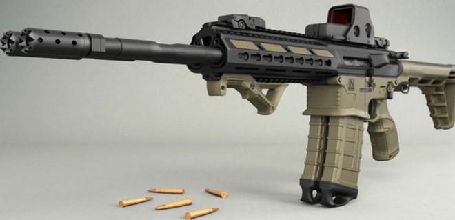 Sau 6 năm, súng trường tấn công siêu dị rắn 2 đầu chính thức được tung ra thị trường - Ảnh 1.