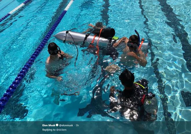 [CẬP NHẬT] Tỉ phú Elon Musk gửi tàu ngầm trẻ em đến Thái Lan, dự kiến 17 tiếng tới nơi - Ảnh 2.