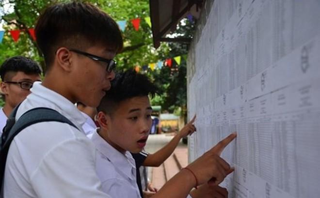 Phú Thọ có thí sinh đạt 9,75 điểm môn Ngữ văn thi THPT quốc gia 2018