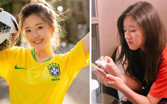 Khoác áo đội tuyển nào đội đó đều rời khỏi World Cup, hot girl này vẫn được yêu vì quá xinh đẹp