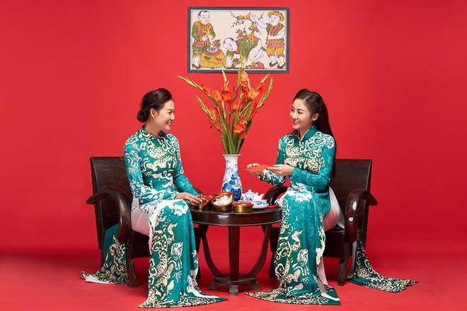 Văn Mai Hương khoe mẹ ruột trẻ trung, xinh đẹp - Ảnh 6.