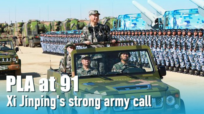 Từng kinh hãi nhìn Mỹ đánh Iraq, nay sang tuổi 91, Quân đội Trung Quốc có tự tin hơn? - ảnh 1