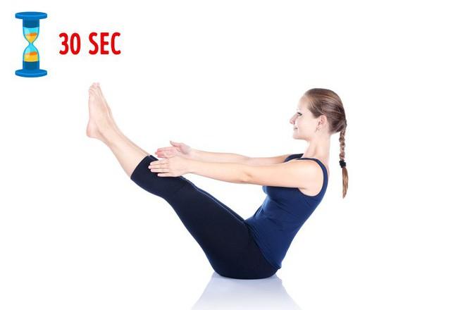 Xấu hổ vì bụng tích đầy mỡ: Đừng bỏ qua bài tập đánh tan mỡ bụng hiệu quả ngay tại nhà - Ảnh 9.