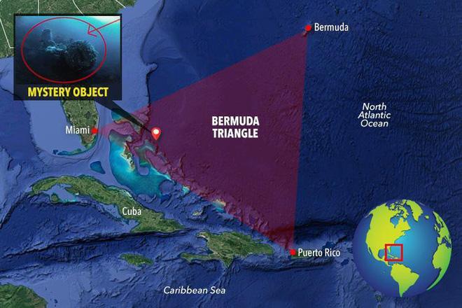 Phát hiện vật thể lạ bên dưới tam giác quỷ Bermuda: Nghi của người ngoài hành tinh! - Ảnh 2.