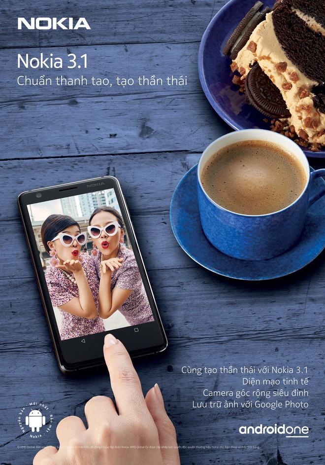 Đâu cần gì nhiều, chỉ với Nokia 3.1 bạn đã đủ tạo thần thái! - Ảnh 1.