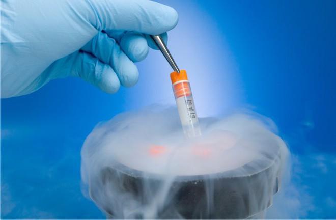 Kỳ diệu bé trai gần 4kg chào đời khỏe mạnh từ trứng và tinh trùng đông lạnh của bố mẹ - Ảnh 1.
