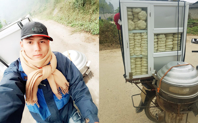 Chàng trai bán bánh bao dạo bỗng dưng gây 'sốt' với những chia sẻ đặc biệt