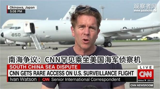 Mỹ cho máy bay tuần thám trinh sát các đảo nhân tạo Trung Quốc chiếm giữ phi pháp ở Trường Sa - Ảnh 3.