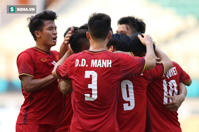 HLV Park Hang-seo vẫn không chịu ăn mừng khi U23 Việt Nam dẫn trước 2-0 - Ảnh 12.