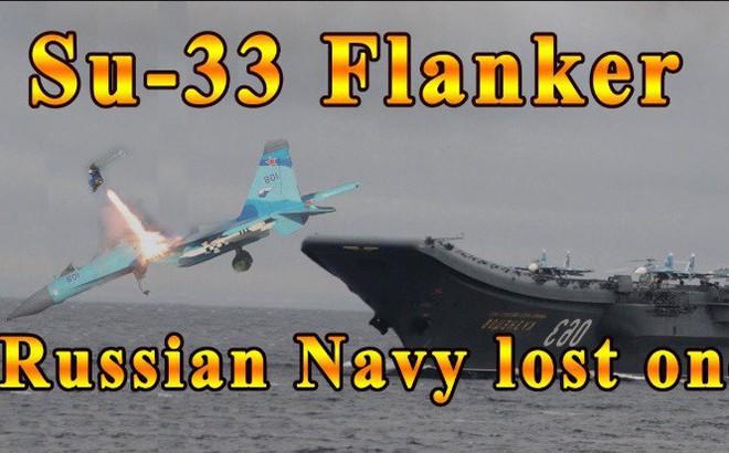 """MiG-29K, Su-33 rơi, tàu sân bay """"đắp chiếu"""": Nga sẽ phải chịu cơn đau tới bao giờ?"""