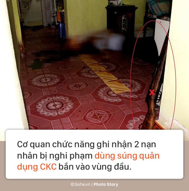 [PHOTO STORY] Hiện trường vụ hung thủ dùng súng CKC bắn chết vợ chồng giám đốc ở Điện Biên - Ảnh 10.