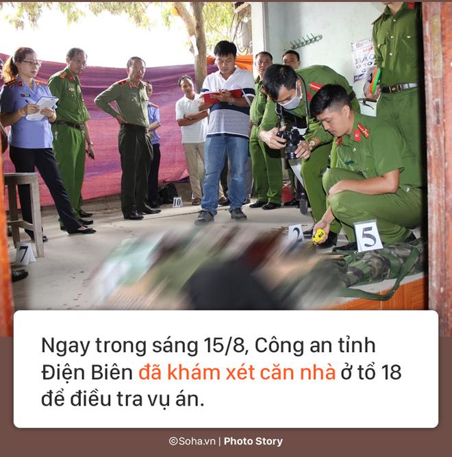 [PHOTO STORY] Hiện trường vụ hung thủ dùng súng CKC bắn chết vợ chồng giám đốc ở Điện Biên - Ảnh 11.