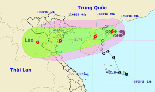 Chuyên gia nhận định bão số 4 hình thái vô cùng đặc biệt, hướng đi dị thường - Ảnh 1.