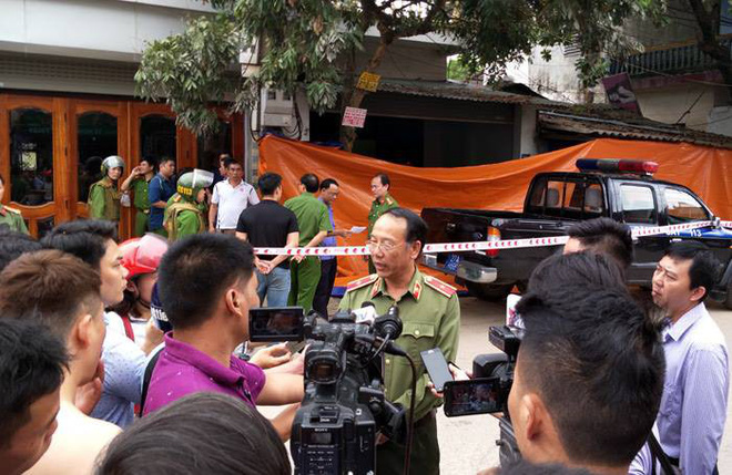 Xác định nghi phạm và nguyên nhân vụ nổ súng chết 2 vợ chồng giám đốc ở Điện Biên - Ảnh 1.