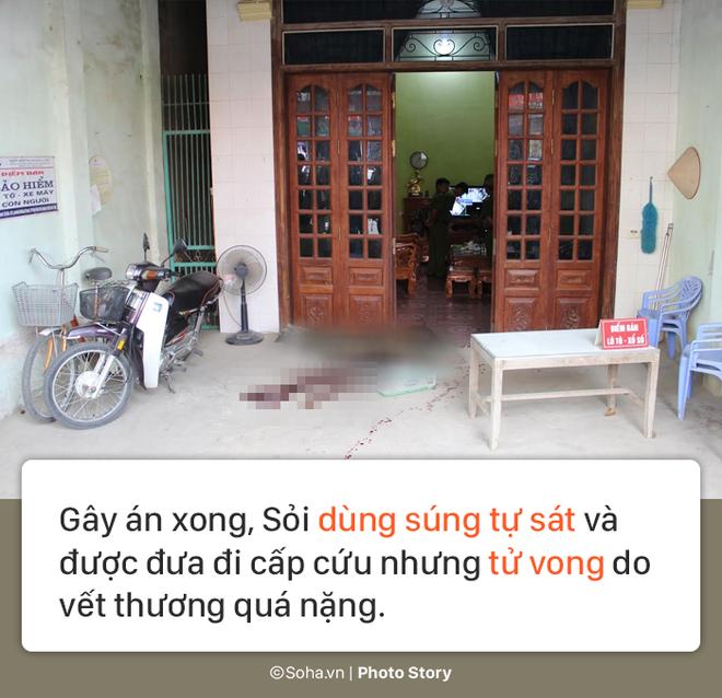 [PHOTO STORY] Hiện trường vụ hung thủ dùng súng CKC bắn chết vợ chồng giám đốc ở Điện Biên - Ảnh 3.