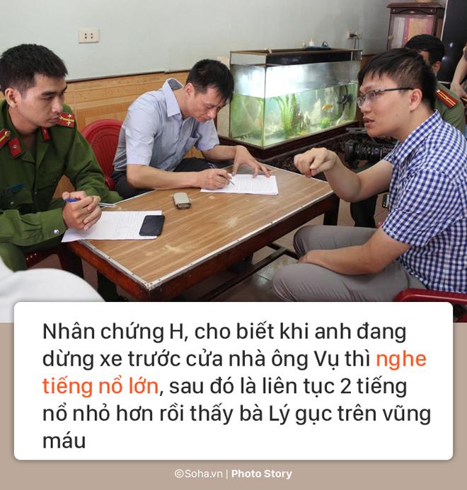 [PHOTO STORY] Hiện trường vụ hung thủ dùng súng CKC bắn chết vợ chồng giám đốc ở Điện Biên - Ảnh 6.