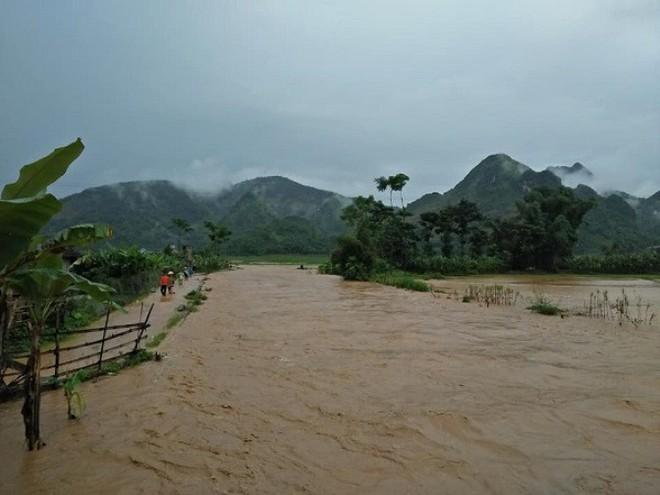 Tâm bão số 4 sẽ vào khu vực Thanh Hóa rạng sáng mai - Ảnh 4.
