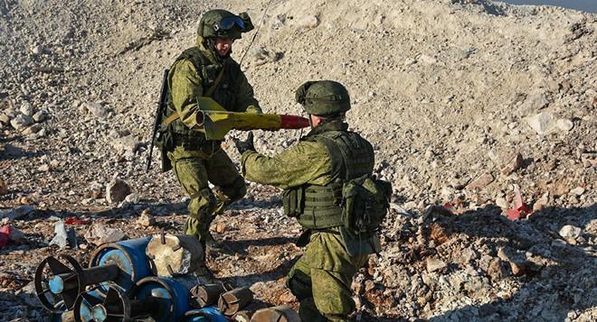 Sĩ quan Nga đối mặt với thần chết ở những tòa nhà bị ma ám tại Syria - Ảnh 1.