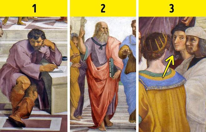 Tiết lộ chi tiết bí ẩn trong 7 bức tranh nổi tiếng thế giới - Ảnh 5.