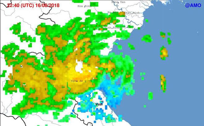 Bão số 4 đã đổ bộ vào đất liền, các khu vực Bắc Bộ, Bắc Trung Bộ tiếp tục mưa to